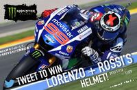 MOTOGP 2015 チャンピオンシップ1位&2位獲得記念キャンペーン!ロレンソ&ロッシのサイン入りヘルメットが当たる!【計20名様】