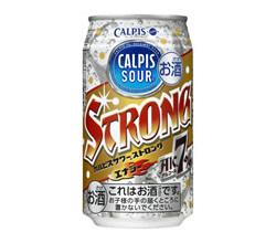 カルピスサワー初!エナジー成分入りのストロングタイプ登場!