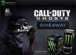 「Call of Duty:Ghosts × モンスターエナジー」日本でも発売!?